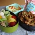 【塾弁】豚のジンギスカン