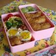 【塾弁当】お稲荷さんと鶏サッパリ煮