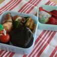 【塾弁当】野菜の豚巻き