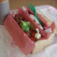 【塾弁当】くるくるピーナツバターパン/くるくるソーセージパン