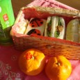 【塾弁当】(てんとう虫)サンドイッチ
