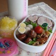 【中学弁当】鶏と大根煮
