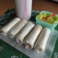 【中学弁当】くるくるサンドイッチ