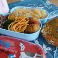【中学弁当】カレーコロッケ、おにぎり