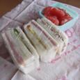 【夏の部活弁当】サンドイッチ