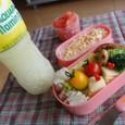 【夏の部活弁当】ハンバーグ