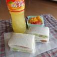 【部活弁当】サンドイッチ弁当