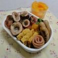 【中学弁当】イカ醤油焼き