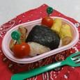 【中学弁当】鮭のおにぎり