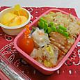 【中学弁当】焼き豚