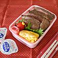 【中学弁当】ステーキ丼