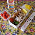 【高校弁当】野菜入り薩摩揚げソテー