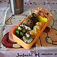 【部活弁当】ひじき入り豆腐ハンバーグ