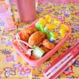 【高校弁当】牛肉コロッケ