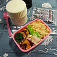 【高校弁当】野菜ときのこスープ