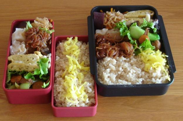 豚と青梗菜炒め弁当