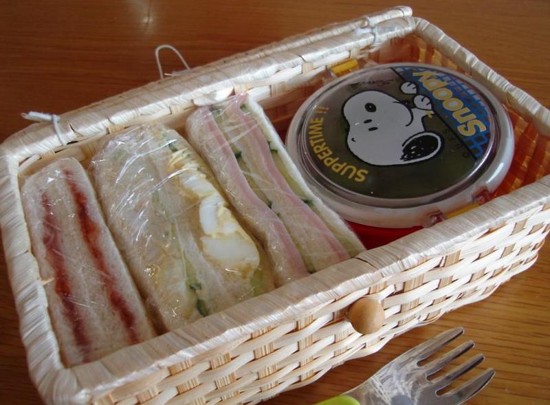 サンドウィッチ弁当