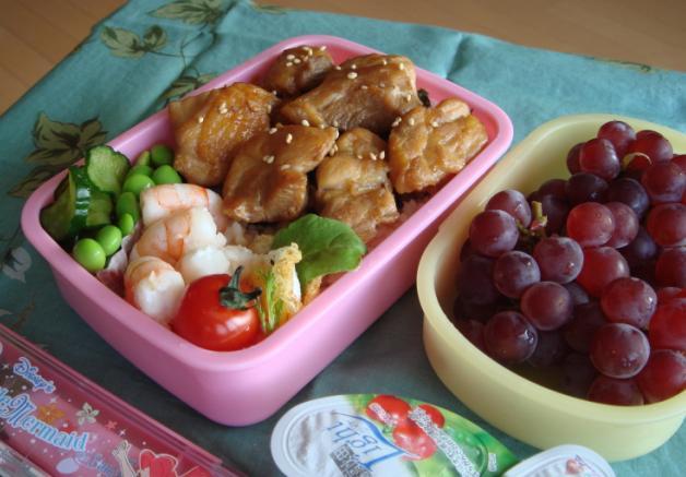 【塾弁】鶏丼