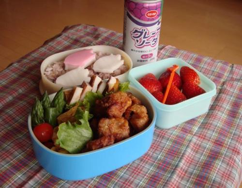 【塾弁当】鶏の唐揚げ
