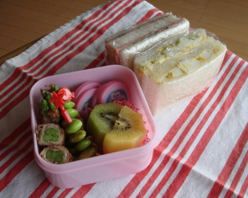【塾弁当】サンドイッチ