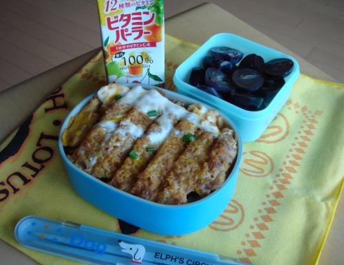 【塾弁当】カツ丼