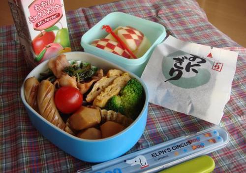 【塾弁当】豚とほうれん草のケチャップ炒め