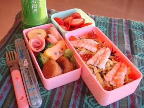 【塾弁当】ちらし寿司