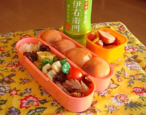 【塾弁当】サーモンの手まり寿司