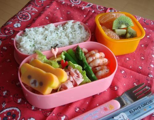 【中学弁当】海老の塩焼き
