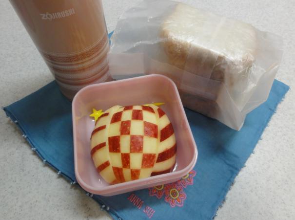 【中学弁当】海老玉サンド