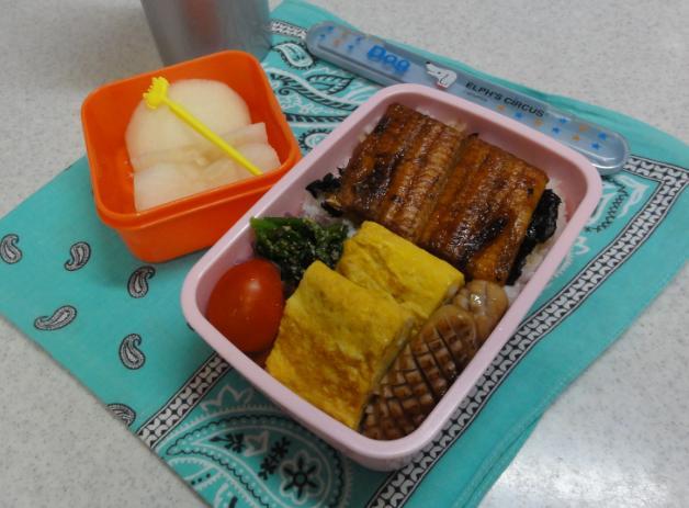 【中学弁当】鰻丼