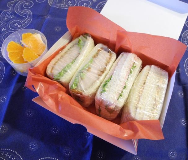 【遠足弁当】サンドイッチ