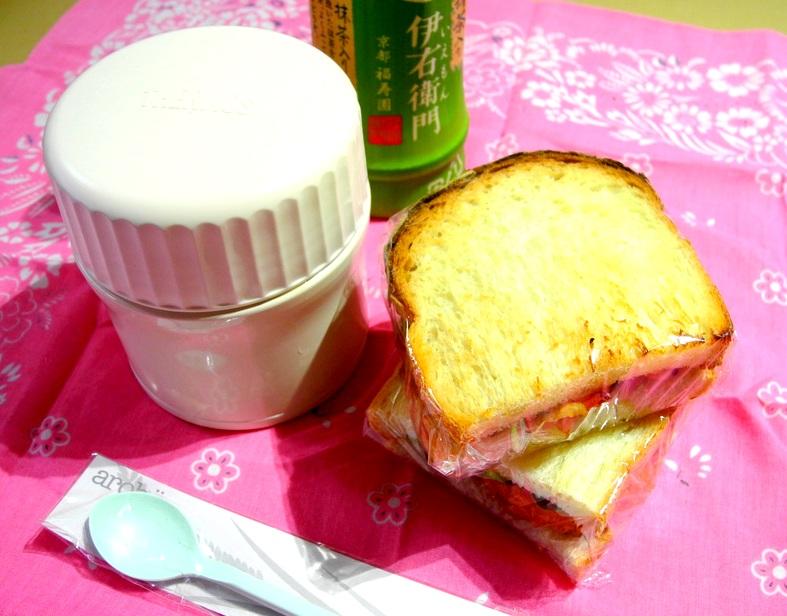 【中学弁当】サンドイッチ