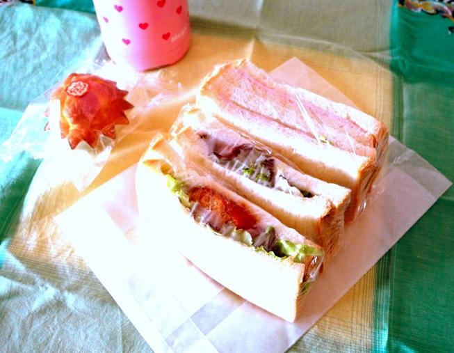 【部活弁当】サンドイッチ