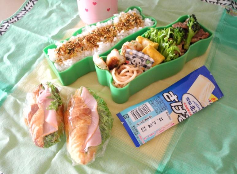 【高校弁当】豚とブロッコリーのオイスターソース炒め