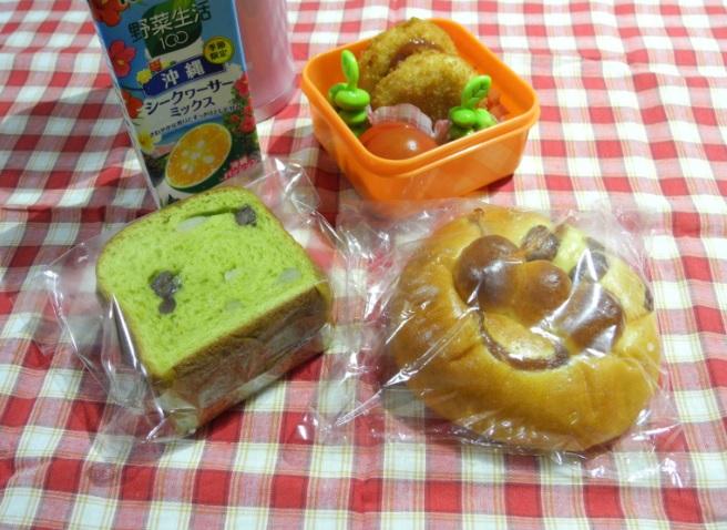 【高校弁当】パン