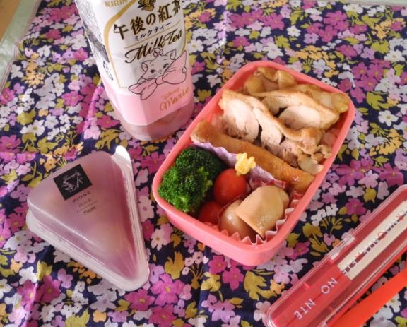【高校弁当】鶏照焼丼