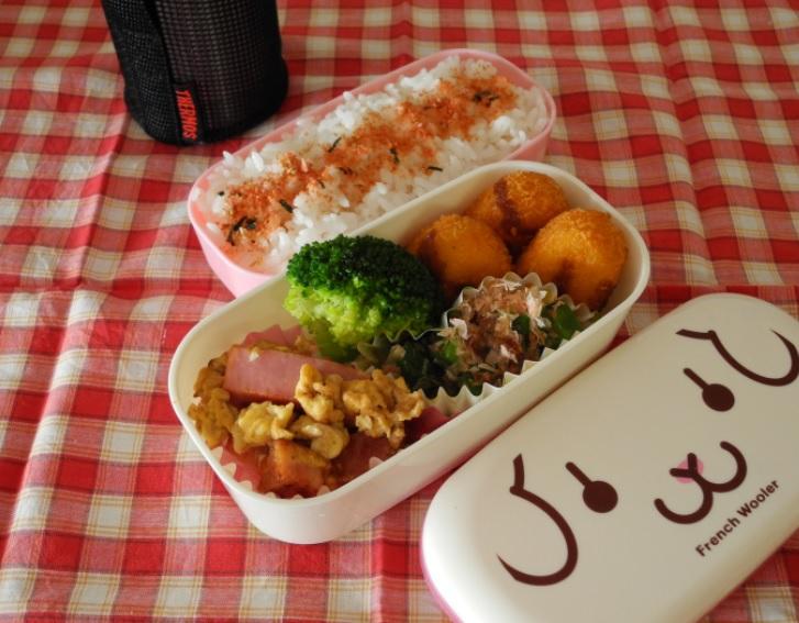 【部活弁当】蟹クリームコロッケ