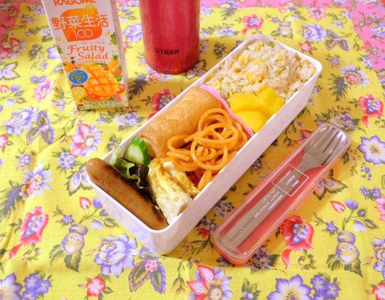 【高校弁当】玉子炒飯