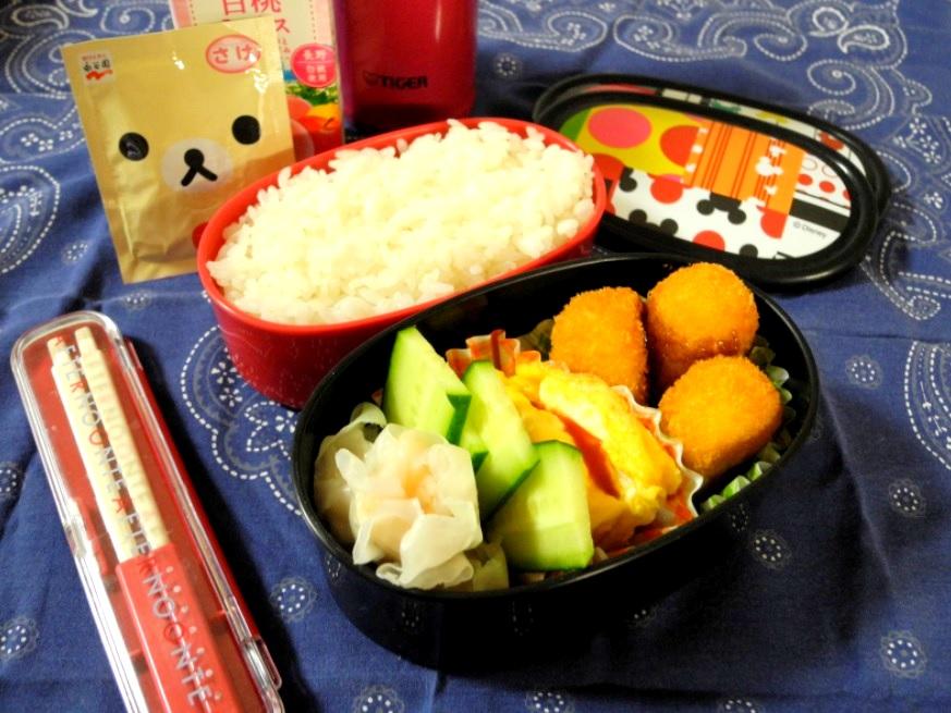 【高校弁当】蟹クリームコロッケ