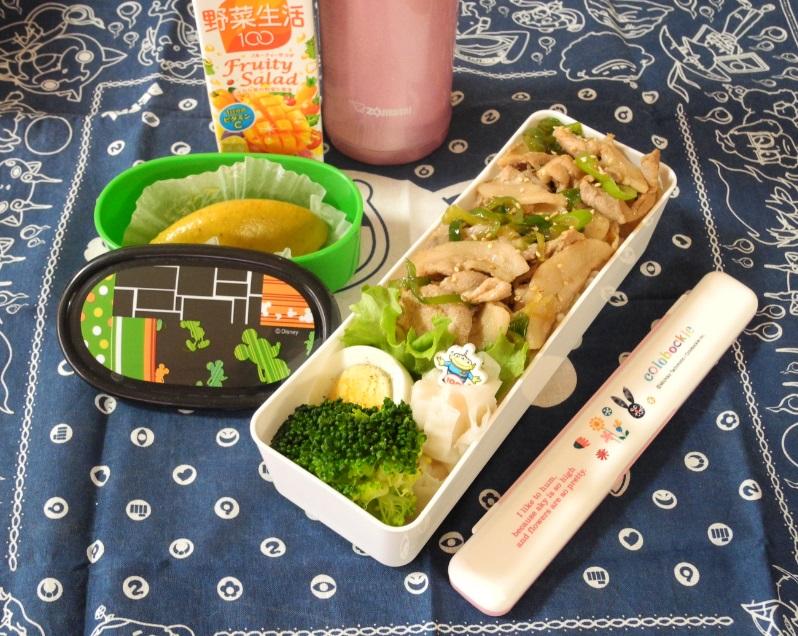 【高校弁当】豚丼
