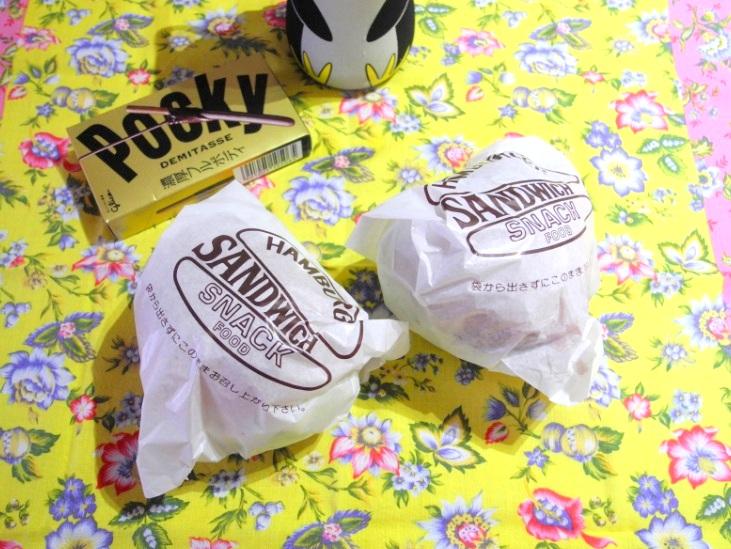【高校弁当】バーガー2種