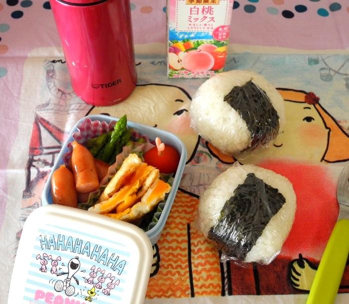 【高校弁当】鮭のおにぎり